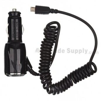 For BlackBerry Storm 9500, 9520, 9530, 9550, 8220, 8230, 8520, 8530 Car Charger - Grade S+