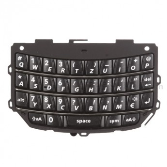 For BlackBerry Torch 9800, 9810 QWERTZ Keypad  Replacement - Black - Grade S+