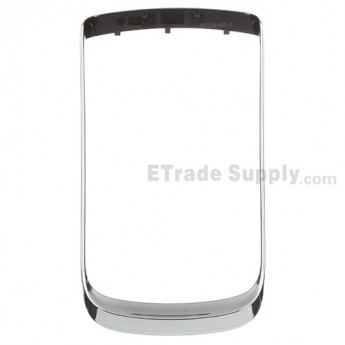 For BlackBerry Torch 9800 Chrome Bezel Replacement ,Silver - Grade S+