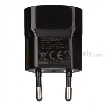 For BlackBerry Z10 Charger (Eur Plug) - Black - Grade S+