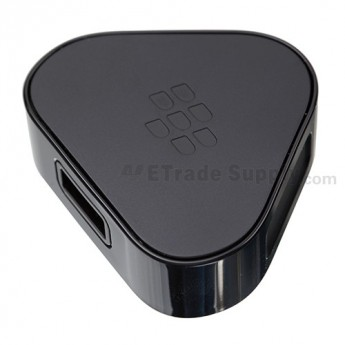 For BlackBerry Z10 Charger (UK Plug) - Black - Grade S+