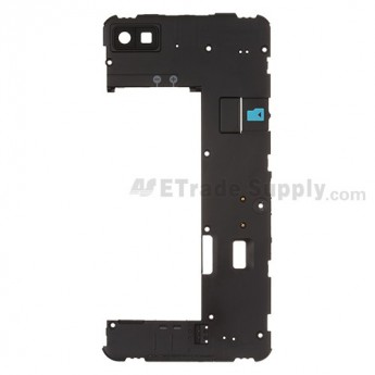 For BlackBerry Z10 Rear Housing Replacement (International 4G Version) - Black - Grade S+