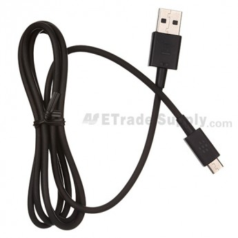For BlackBerry Z10 USB Data Cable - Black - Grade S+