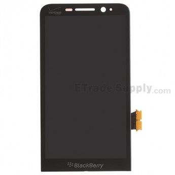 For BlackBerry Z30 LCD Screen and Digitizer Assembly Replacement (Verizon) - Black - With Logo - Grade S+