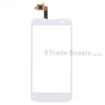 For BQ Aquaris 5.0 Digitizer Touch Screen Replacement - White - Grade S+