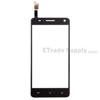 For BQ Aquaris 5.7 Digitizer Touch Screen Replacement - Black - Grade S+