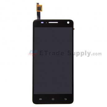 For BQ Aquaris 5.7 LCD Screen and Digitizer Assembly  Replacement - Black - Grade S+