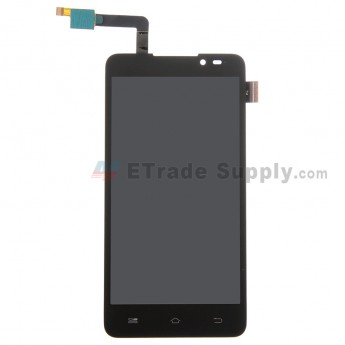 For Coolpad F1 8297 LCD Screen and Digitizer Assembly Replacement - Black - Without Any Logo - Grade S+