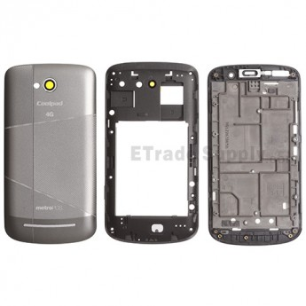 For Coolpad Quattro 4G 5860E Housing Replacement - Gray - Grade S+