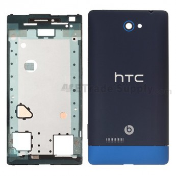 For HTC 8S Complete Housing Replacement - Blue - Grade S+