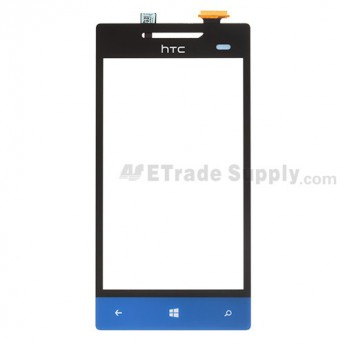 For HTC 8S Digitizer Touch Screen Replacement - Blue - Grade S+