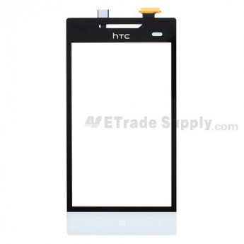 For HTC 8S Digitizer Touch Screen Replacement - White - Grade A