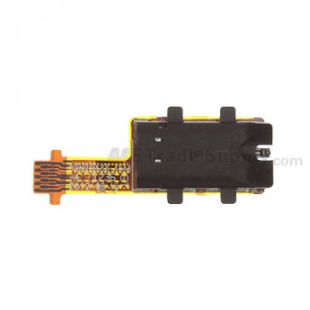 For HTC 8X Earphone Jack Flex Cable Ribbon Replacement - Grade S+