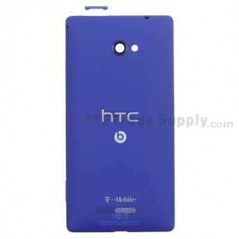For HTC 8X Rear Housing Replacement - Blue - Grade S+