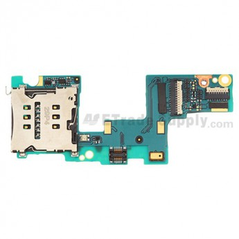 For HTC 8X SIM Card Reader Contact PCB Board Replacement - Grade S+