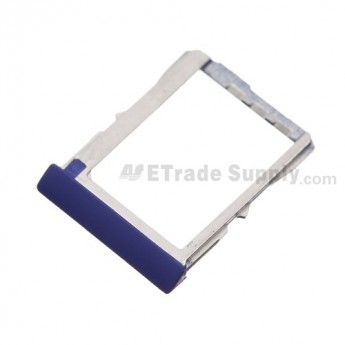 For HTC 8X SIM Card Tray  Replacement ,Blue - Grade S+