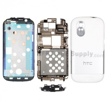 For HTC Amaze 4G Complete Housing Replacement - Black - Grade S+