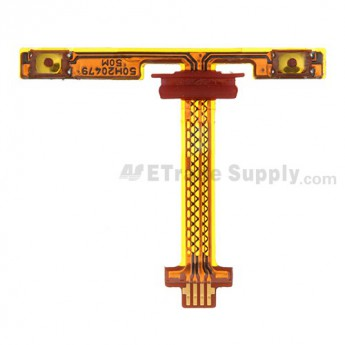 For HTC Butterfly X920e Volume Button Flex Cable Ribbon Replacement - Grade S+