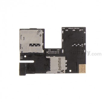 For HTC Desire 300 SIM Card and SD Card Reader Contact Replacement - Grade S+