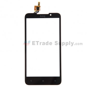 For HTC Desire 516 Dual SIM Digitizer Touch Screen Replacement - Black - With Logo - Grade S+