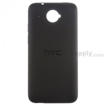 For HTC Desire 601 Battery Door Replacement - Black - Grade S+