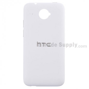 For HTC Desire 601 Battery Door Replacement - White - Grade S+