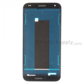 For HTC Desire 601 Front Housing Replacement - Black - Grade S+
