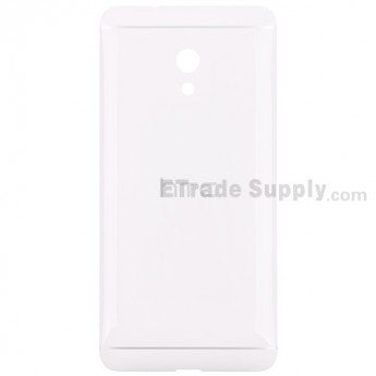 For HTC Desire 700 Dual SIM Battery Door Replacement - White - With Logo - Grade S+