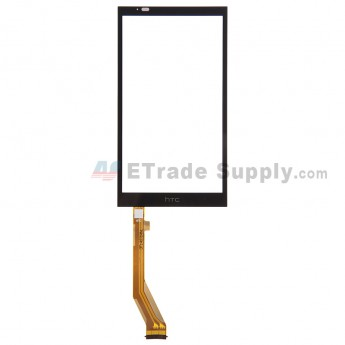 For HTC Desire 816 Digitizer Touch Screen Replacement - Black - With Logo - Grade S+