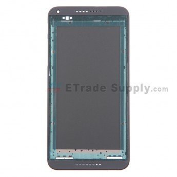 For HTC Desire 816 Front Housing Replacement - Black - Grade S+