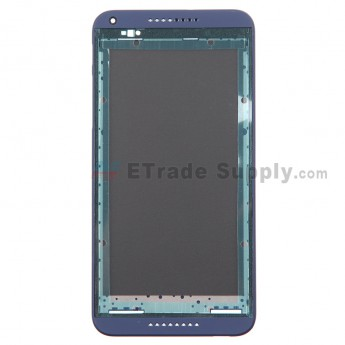 For HTC Desire 816 Front Housing Replacement - Blue - Grade S+