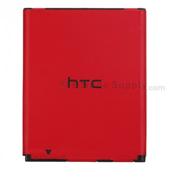 For Reclaimed HTC Desire C Battery Replacement (1230 mAh) - Red - Grade S+