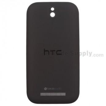 For HTC Desire SV Battery Door Replacement - Black - Grade S+