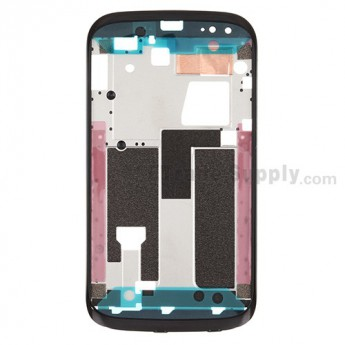 For HTC Desire X Front Housing Replacement ,Black - Grade S+
