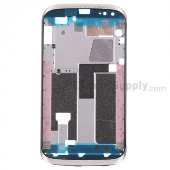 For HTC Desire X Front Housing Replacement - Gold - Grade S+