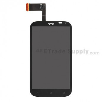 For HTC Desire X LCD Screen and Digitizer Assembly with Light Guide Replacement - Grade S+