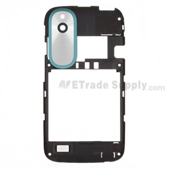 For HTC Desire X Middle Plate Replacement - Black - Grade S+