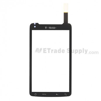 For HTC Desire Z Digitizer Touch Screen without Adhesive Replacement - With Logo - Grade S+