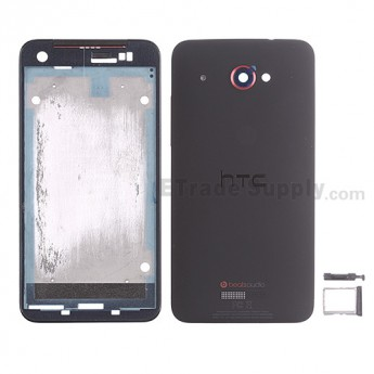 For HTC Droid DNA Housing Replacement - Black - Grade S+