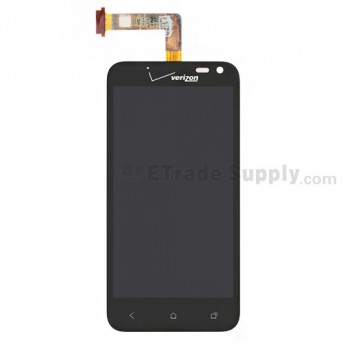 For HTC Droid Incredible 4G LTE LCD Screen and Digitizer Assembly without Light Guide Replacement - Grade S+