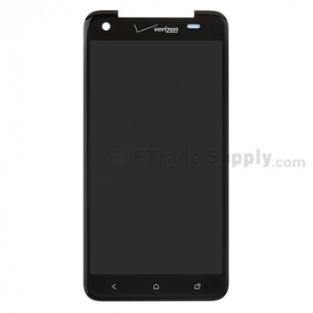 For HTC Droid DNA LCD Screen and Digitizer Assembly without Light Guide Replacement ,With Verizon Logo - Grade A