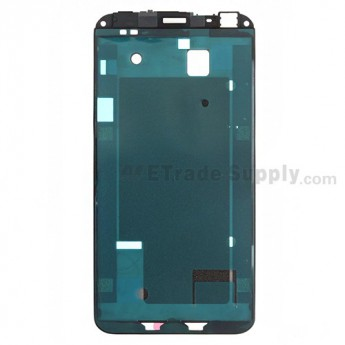 For HTC EVO 4G LTE Front Housing Replacement - Black - Grade A