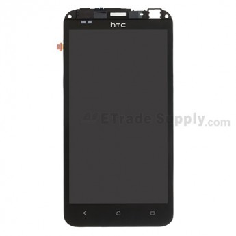For HTC EVO 4G LTE LCD Screen and Digitizer Assembly with Front Housing and Light Guide Replacement - Grade S+