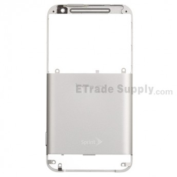 For HTC EVO 4G LTE Rear Housing Replacement ,White - Grade S+