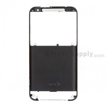 For HTC EVO 4G LTE Rear Housing Replacement - Black - Grade A
