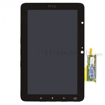 For HTC EVO View 4G LCD Screen and Digitizer Assembly without Light Guide Replacement - Grade S+