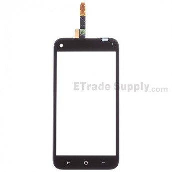 For HTC First Digitizer Touch Screen Replacement - Black - Without Any Logo - Grade S+