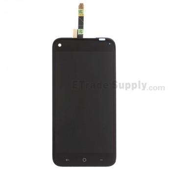 For HTC First LCD Screen and Digitizer Assembly with Light Guide Replacement - Black - Grade S+