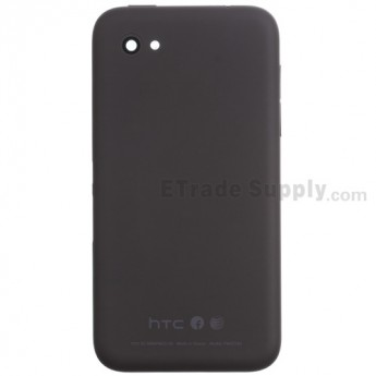 For HTC First Rear Housing Replacement - Black - Grade S+