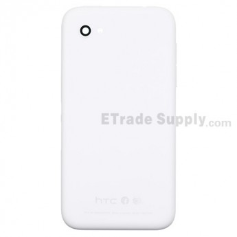 For HTC First Rear Housing Replacement - White - Grade S+